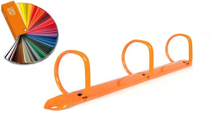 Ringbuchmechaniken pulverbeschichtet 3-Ring D-Form