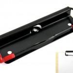 Drahtbügel-Klemmmechaniken mit Gummiecken rot Art.Nr.: 323/115 GL
