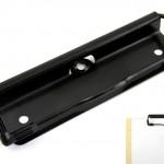 Drahtbügel-Klemmmechaniken mit Gummiecken schwarz Art.Nr.: 323/115 GLS