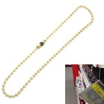 Ball chains brass plated product no.: KK2.4/230 P