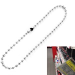 Ball chains nickel plated product no.: KK2.4/760 NF