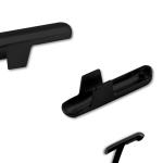T-Splinte schwarz verzinkt Art.Nr.: 125 S SVZ