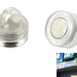 Magnetic ceiling hooks 16 mm eyelet closed product no.: 1002 M16