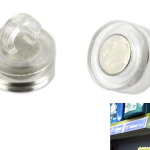Magnetic ceiling hooks 16 mm eyelet opened product no.: 1003 M16
