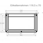 Art.Nr.: ER 300 N - 120 70120 x 70 mm
