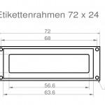 Art.Nr.: ER 100 N - 72 2472 x 24 mm