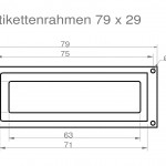 Art.Nr.: ER 100 N - 79 2979 x 29 mm
