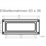 Art.Nr.: ER 100 N - 93 3693 x 36 mm