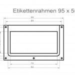 Art.Nr.: ER 300 N - 95 5595 x 55 mm