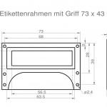 Art.Nr.: MG/ER 100 N - 73 4373 x 43 mm