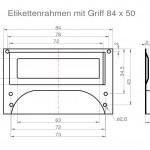 Art.Nr.: MG/ER 100 N - 84 5084 x 50mm