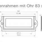Art.Nr.: ER 200 N - 83 3283 x 32 mm