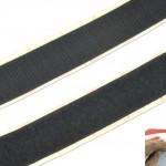 Klett- und Flauschband schwarz