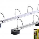 Ringbuchmechaniken mit Magnetfüßen D-Form