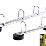 Ringbuchmechaniken mit Magnetfüßen Q-Form