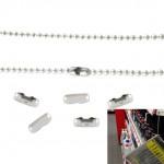 Verschlüsse für Kugelketten Art.Nr.: KK V 2.4